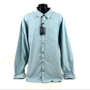PD&C Shirt Long Sleeve Button Front Plaid $68 NWT
